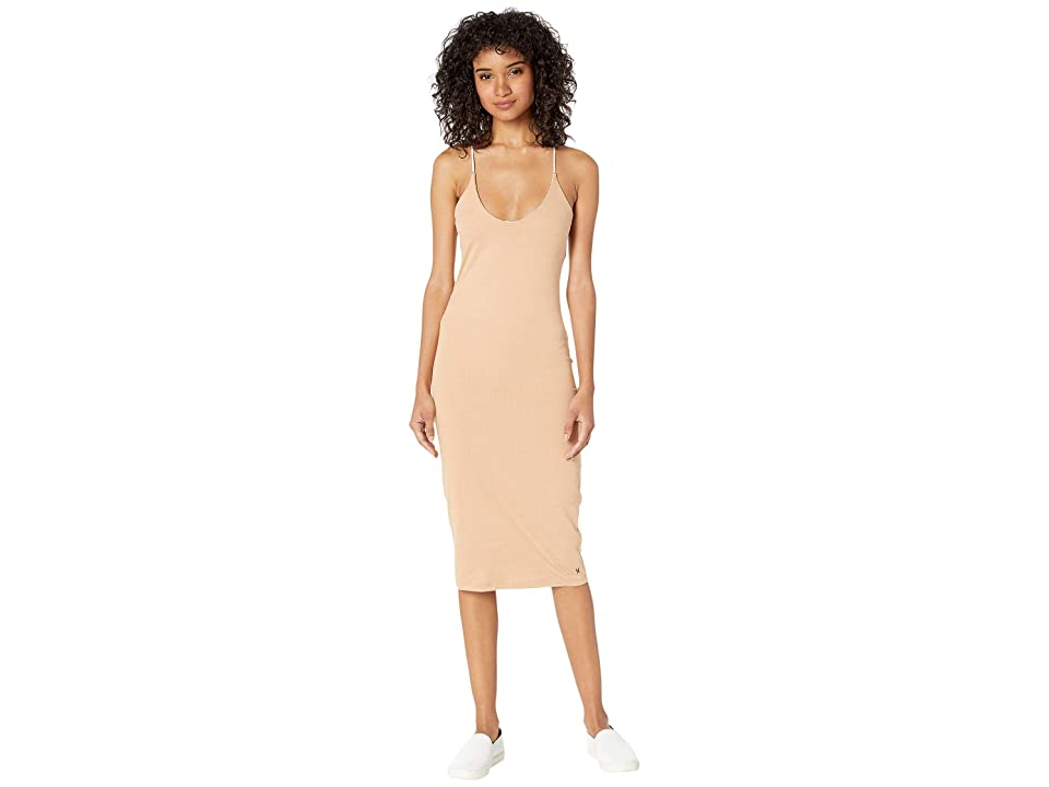 Hurley Reversible Fitted Dress (Particle Rose) Women