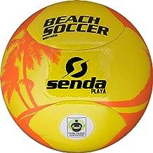 Senda Playa Beach Soccer Ball, Fair Trade Certified, Orange/Yellow