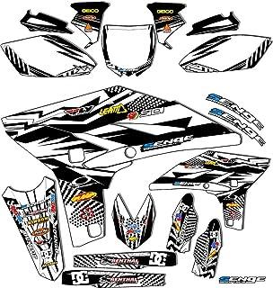2000-2007 TTR 125, Mayhem White Complete kit, Senge Graphics, Compatible with Yamaha