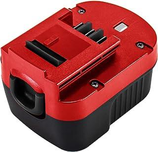 HPB12 12V Replacement for Black and Decker 12V Battery Compatible with B&D 12 Volt A1712 FSB12 A12 A12-XJ A12EX Firestorm ...