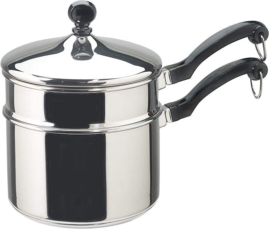 Farberware Classic Stainless Series 2 Quart Covered Double Boiler