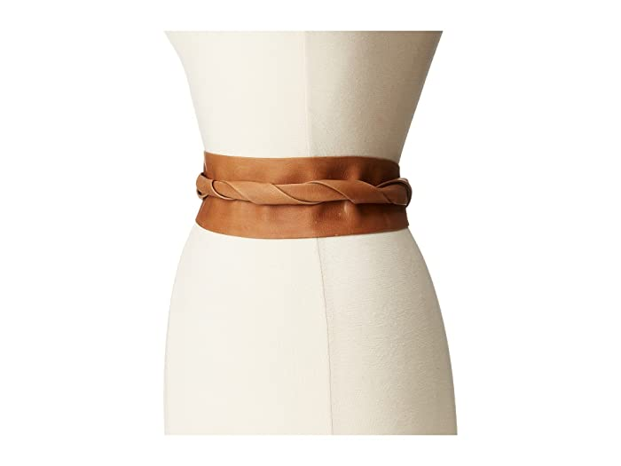 ADA Collection Obi Classic Wrap Belt (Tan) Women