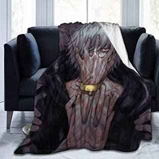 Darkt Kaminari Denki Flannel Air Conditioning Blanket Warm Throw Blanket Quilt Suitable All Seasons for Couch Bed Sofa 60x50 Inch for Teens