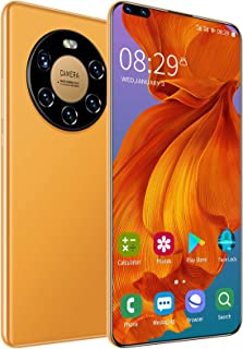 """Mate40 Unlocked Android Smartphone with 6.8"""" Display,Five-Core Camera System, 12+512GB RAM,Dual Card Dual-Mode Cell Phones..."""