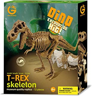 Geoworld Dino Excavation Kit - T-Rex Skeleton