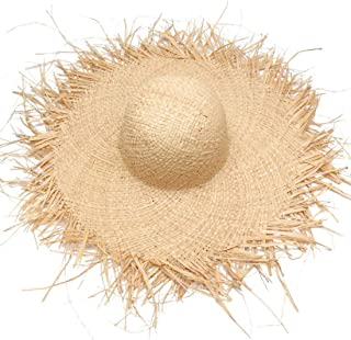Hats Spring and Summer Lafayette Material is Made from A Beach Hat with Sunshade Hats Fashion (Color : Beige)