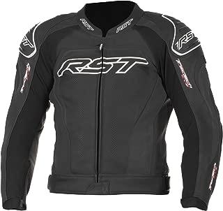 RST Tractech Evo II 1425 Leather Motorcycle Bike Jacket - Black 38