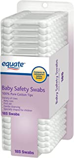 Equate Baby Safety Swabs,  185 Swabs (Compare Johnson's Safety Swabs)