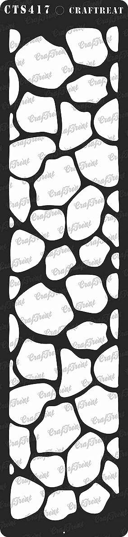 CrafTreat Stencil - Giraffe Skin 3
