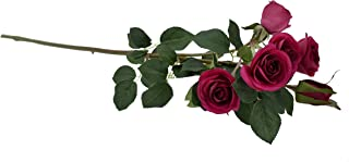 Real Touch Rose Flowers Artificial Plants Bridal Wedding Party Decor Bouquet For Home Indoor Decoration