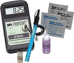 Pinpoint pH Meter KIT Lab Grade Portable Bench Meter Kit for Easy & Precise Digital pH Measurement – Complete 8 Piece Set