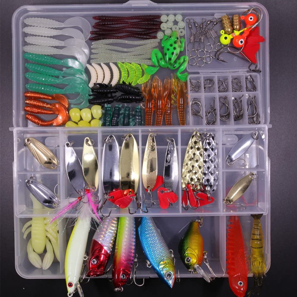 SHINE-CO LIGHTING Artificial Fishing Lures Al sold out. Max 51% OFF Tackle Set Assorted w