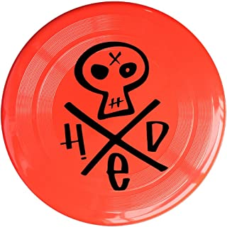 RCINC Hed Skull Logo Outdoor Game Frisbee Ultra Star Yellow