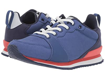 Native Kids Shoes Dartmouth (Little Kid) (Marine Blue/Shell White/Coral Pink/Regatta Rubber) Boys Shoes