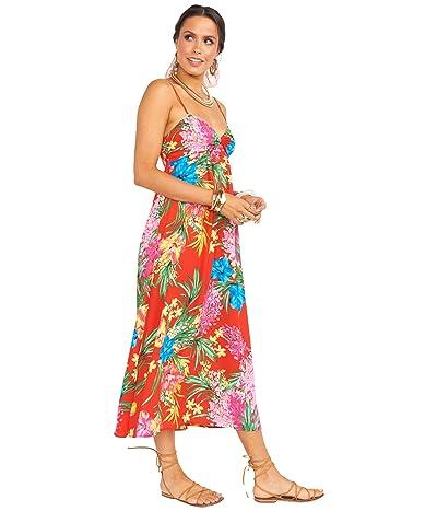 Show Me Your Mumu Magnolia Midi Dress (Tropical Tango) Women