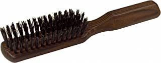 Redecker Wild Boar Bristle Hairbrush with Oiled Thermowood Handle, 8-1/8-Inches