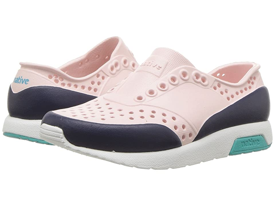 Native Kids Shoes Lennox Block (Toddler/Little Kid) (Cold Pink/Shell White/Glacier Green/Regatta Blue) Girls Shoes