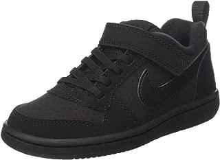 Nike Australia Boys Court Borough Low (PSV) Fashion Shoes, Black/Black