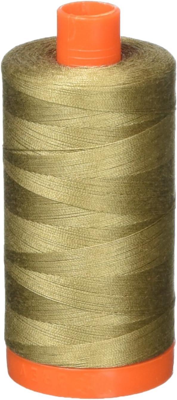 Aurifil Thread 2370 Popular standard SANDSTONE Cotton Large Mako 1300m Louisville-Jefferson County Mall Spool 50wt