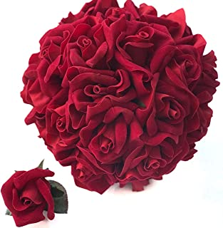 Best wedding red rose bouquet Reviews