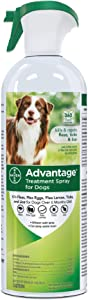 Advantage Flea and Tick Treatment Spray for Dogs, 15 oz