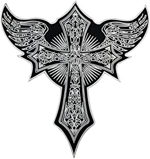 KUSTOM FACTORY - Toppa a forma di croce, 33 x 33 cm