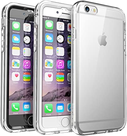 SUPCASE iPhone 6 Plus / 6S Plus Case, Ares Full-body Rugged Clear Bumper Case with Built-in Screen Protector for Apple iPhone 6 Plus 2014 / iPhone 6s Plus 2015 5.5 Inch