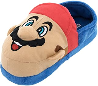 Super Mario and Luigi Kids Slippers