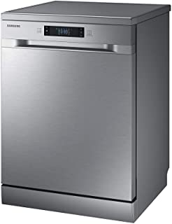 Samsung 7 programmes 14 place settings Free standing Dishwasher, Silver - DW60M6050FS, 1 Year Warranty