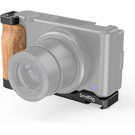 SmallRig Sony ZV1カメラ専用L型プレート 木製ハンドル付き-2936