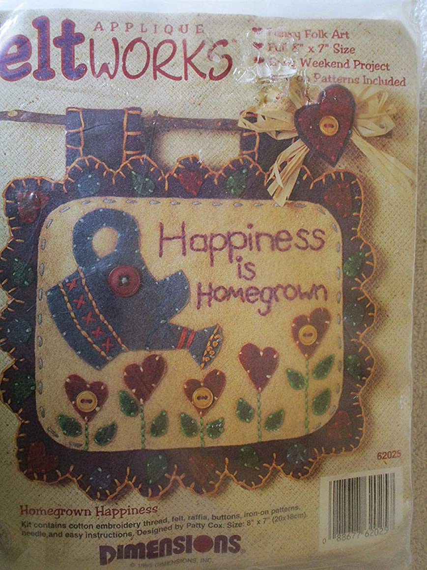 Applique Feltworks Homegrown Happiness
