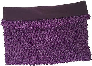 8inches Lined Crochet Tutu Tube Tops Chest Wrap for Girls DIY Tutu Dress Pettiskirt Tube Tops