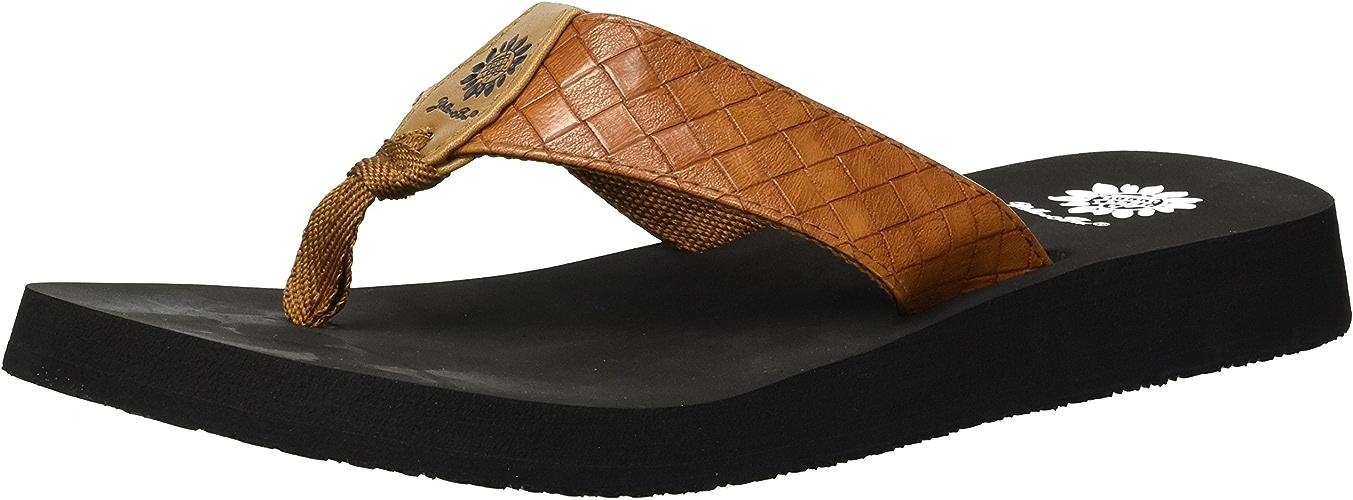 Jaune Box Wohommes Cocoa Sandal, Tan, 10 M US