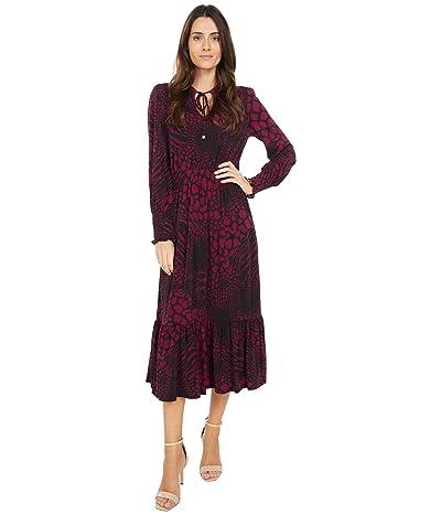MICHAEL Michael Kors Animal Patchwork Ellip Dress