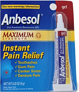 Anbesol Maximum Strength Gel