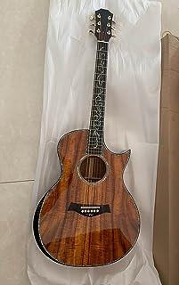 الغيتار الصوتية،حقيقي خشب الأبنوس وتهوية اللوح الصوتية الغيتارفولك guitarfolk البوبأطقم الجيتار الغيتار Makfacp Acoustic ...