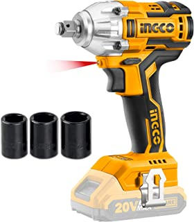 Sponsored Ad – INGCO 20V Brushless Lithium-Ion Impact Wrench with 3pcs Sockets, 1/2 Inch, 300NM (Body Only) CIWLI20010