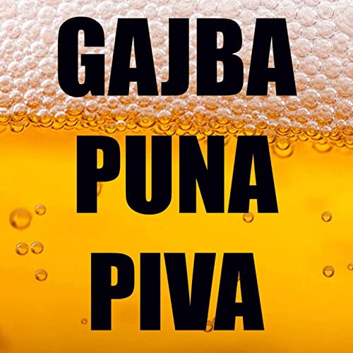 moja draga i ja i gajba piva