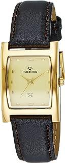 Maxima Analog Yellow Dial Men's Watch - E-15850Lmgy