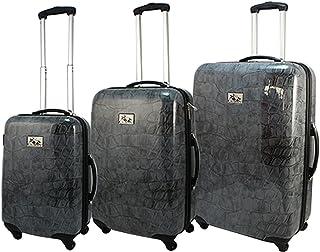 Chariot 3 Piece Hardside Lightweight Spinner Upright Luggage Set