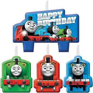 Thomas the Train Tank Engine (Thomas & Friends) Kids Birthday Party Candle Set