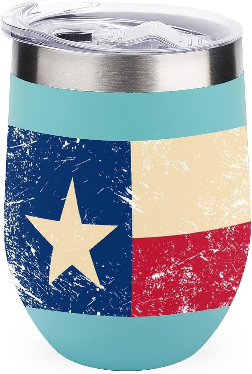 free shipping Texas State Flag Camping trip water OFFicial mail order Insulate mug Steel Stainless