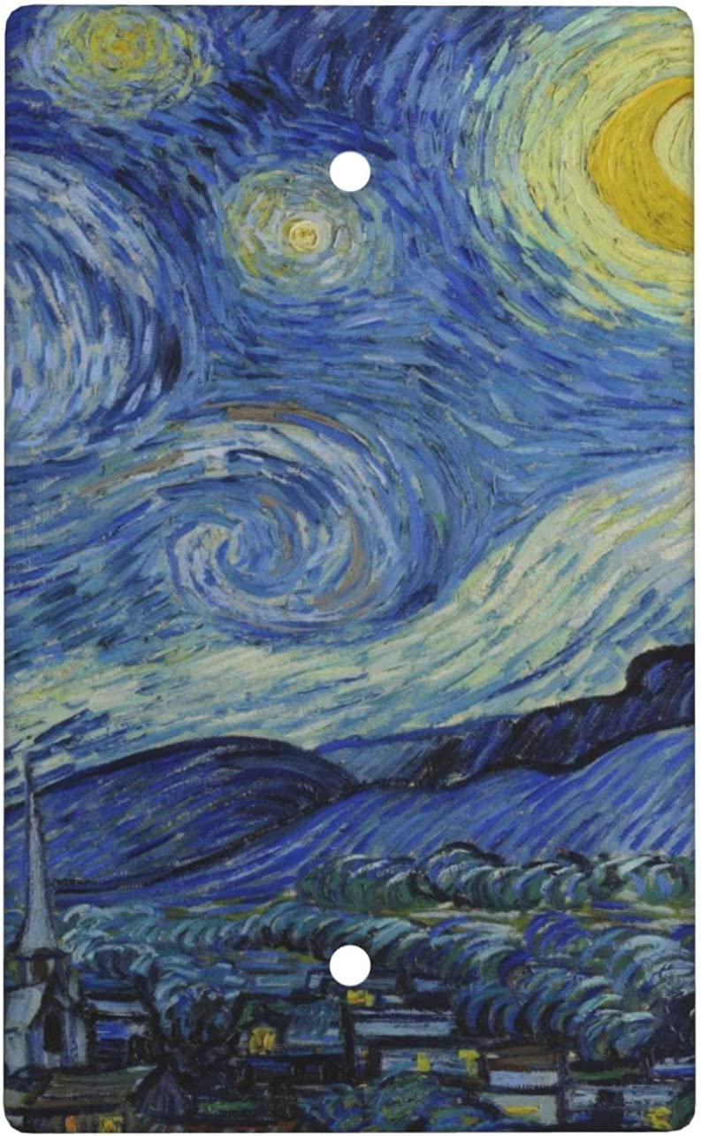 Van Gogh Blank 2021 spring and summer new Cover Wall Plate High quality 2.76 Inches Size X Standard 4.5