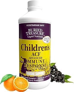 Buried Treasure Childrens ACF Advanced Immune Response, Immune Booster Supplement for Kids, Liquid Herbal Immunity Formula...