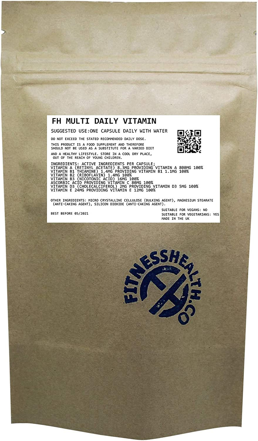Raleigh Mall Multi Vitamin Minerals 60 Popular Tablets Daily