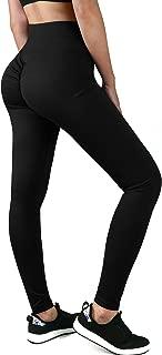 HISMIS Women Scrunch Butt Yoga Pants Leggings High Waist Waistband Workout Sport Fitness Gym Tights Push Up