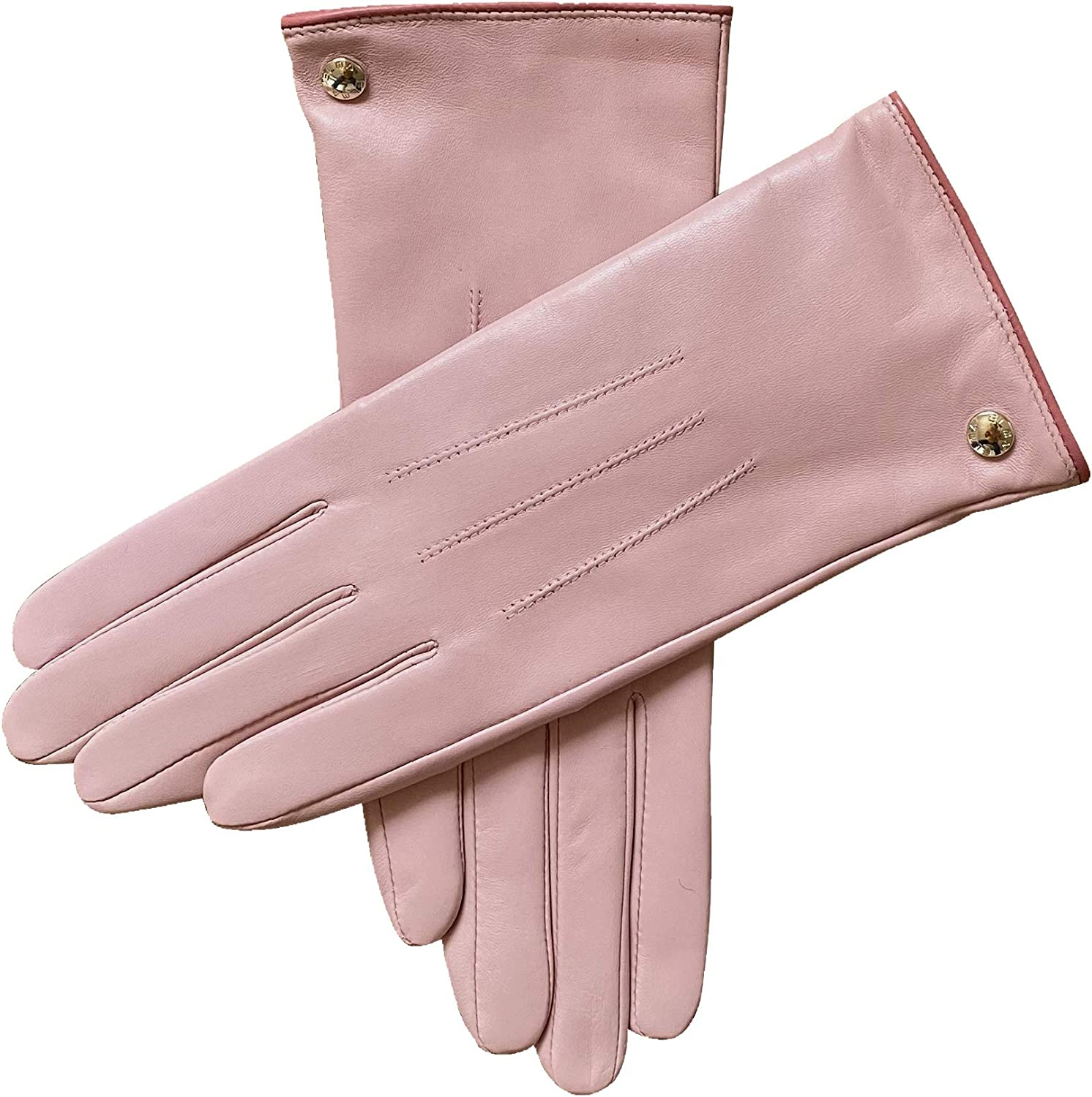 Elma Womens Classic Touchscreen Texting Winter Warm Driving Hairsheep Leather Gloves 100/% Pure Cashmere Lined