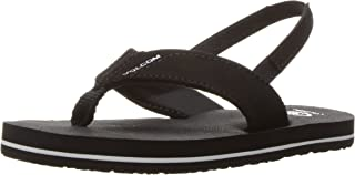 Volcom Kids' Victor Little Youth Sandal Flip Flop