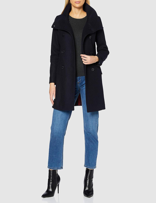 s.Oliver Damen Wollmischungs-Mantel 5959