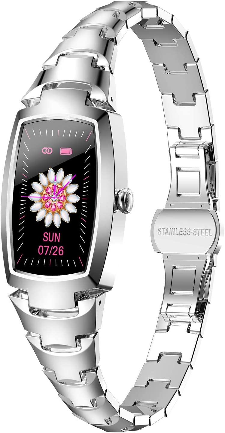 Smart Watch for Women Branded goods Waterproof At the price of surprise with Pre Blood Tracker Fitness